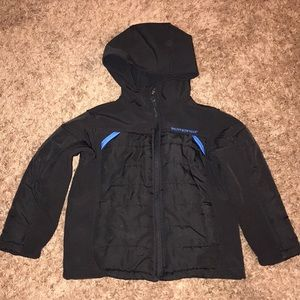 Boys weatherproof coat